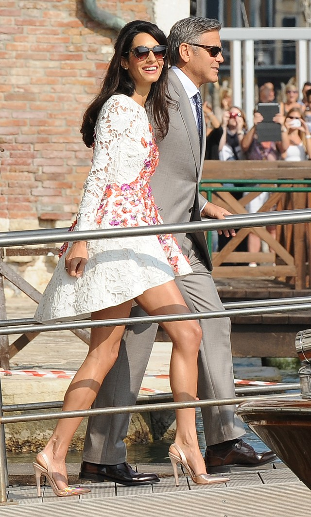George-Clooney-Amal-Alamuddin-First-Photos-After-Wedding