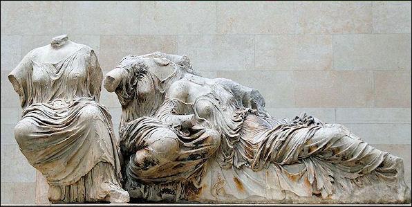 20120222-Elgin Marbles East pediment KLM Parthenon BM