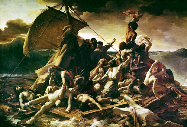 1 Theodore Gericault Raft of the Medusa 1