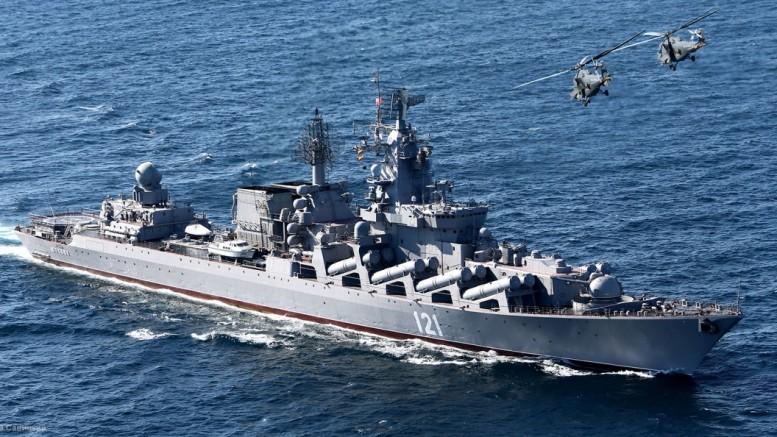 Russian cruiser Moskva