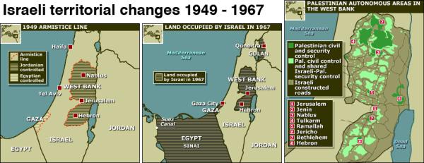 017 Israeli territory 1949 to 1967
