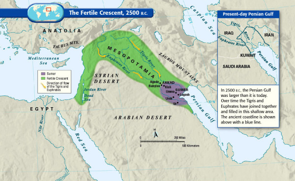 01 fertile crescent textbook