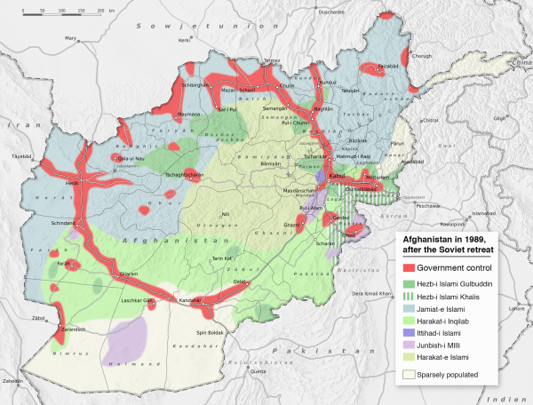 028 Afghanistan politisch 1989 ENGLISH