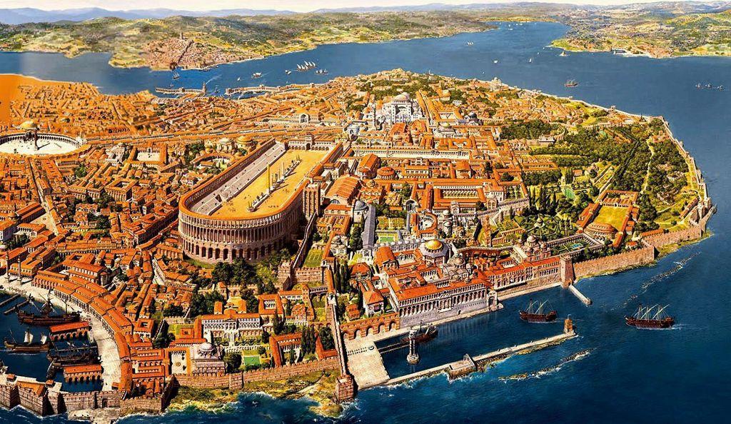 6 Κωνσταντινούπολη Νεγροπόντε Χαλκίδα Βυζάντιο Ενετοκρατία