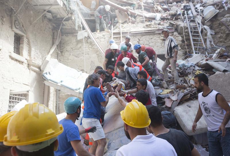 italia seismos