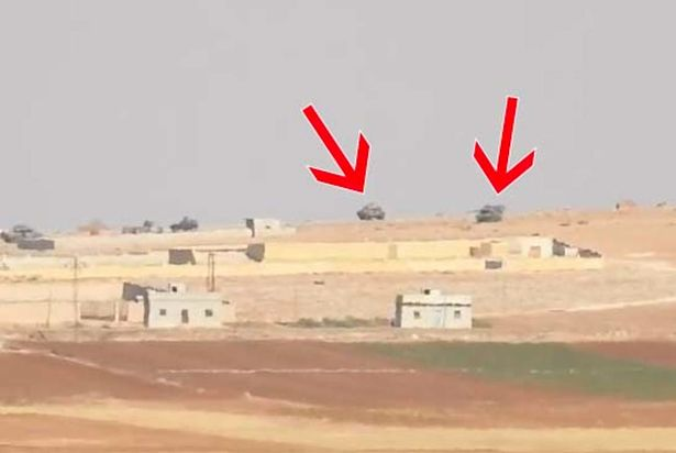 ISIS blow up Turkish tanks in Syria