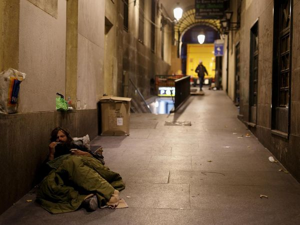 homelessness madrid