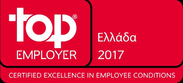 Top Employer Greece 2017