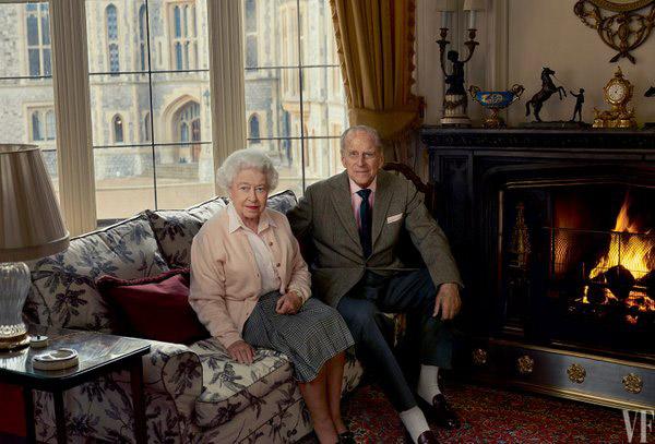queen philip portrait a
