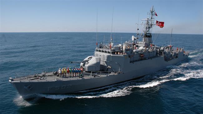 turkish battleship