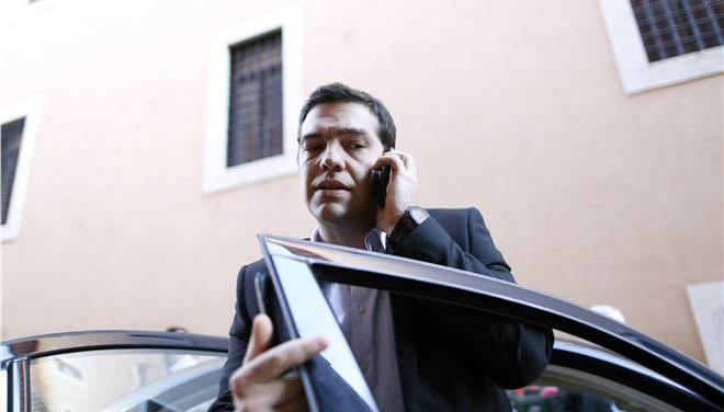 tsipras tilefono