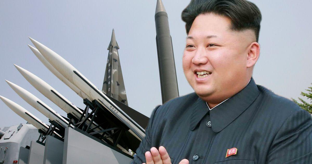 MAIN Kim Jong Un missiles