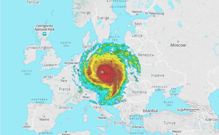 map irma