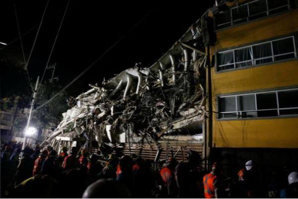mexico school earthquake 2