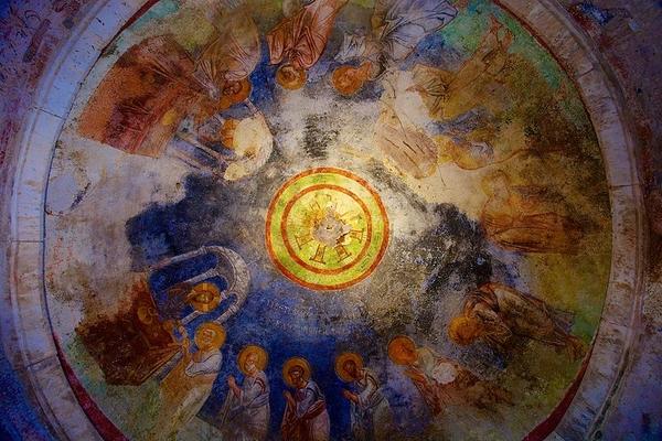 Ceiling fresco St. Nicholas Church Demre