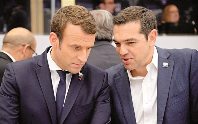aleksis tsipras emanouel makron