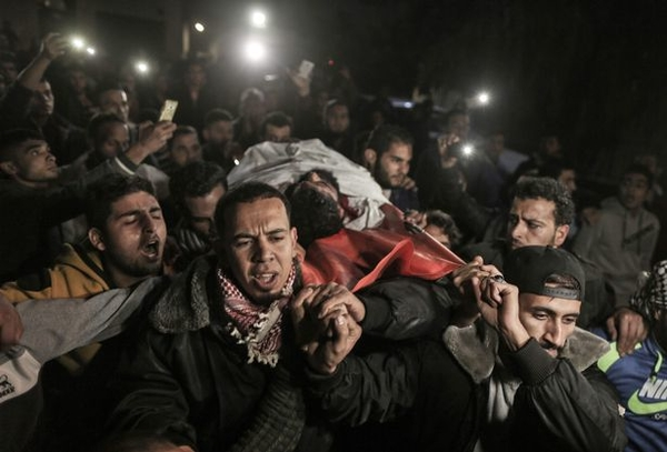 EDITORS NOTE Graphic content Palestin