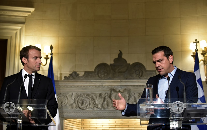 makron tsipras