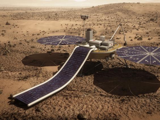 mars one lander
