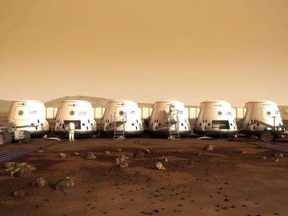 mars one pods