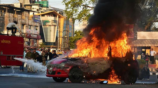 Bollywood violence