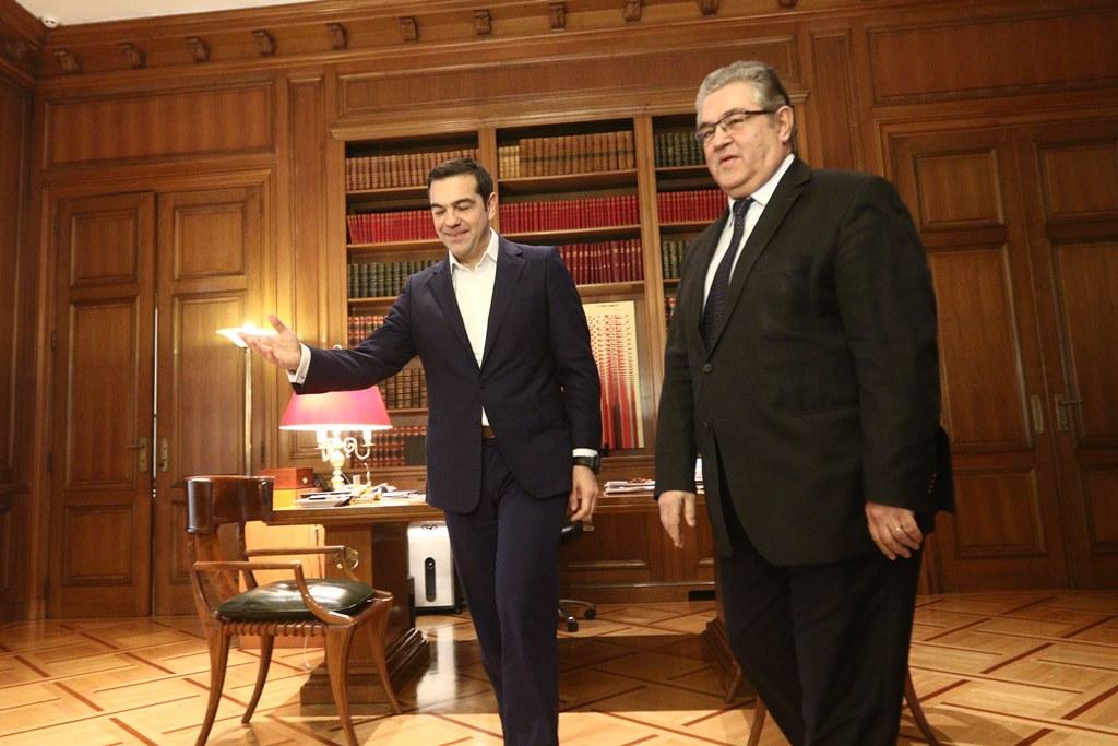 koutsoumpas tsipras