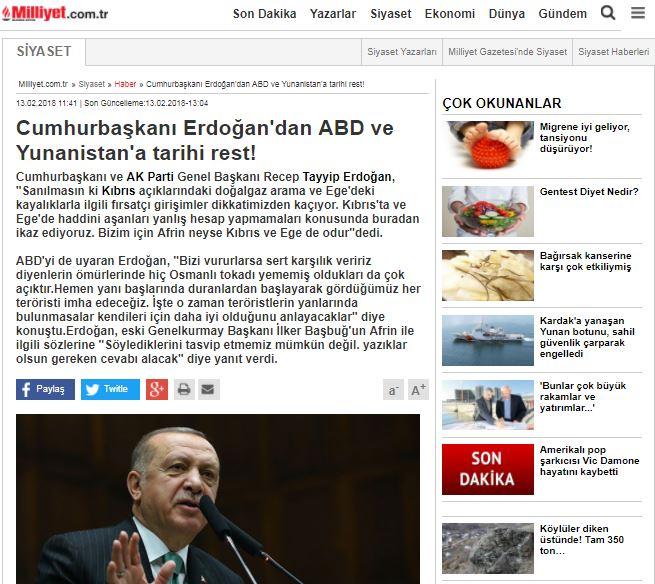 milliyet erdogan