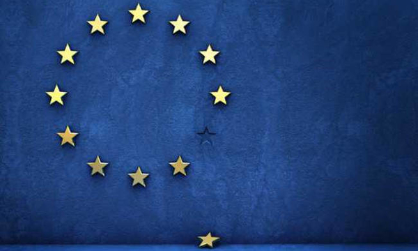 european union eu flag missing star brexit