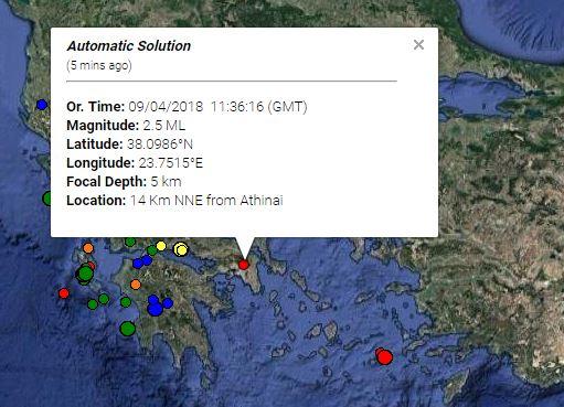 seismos athina