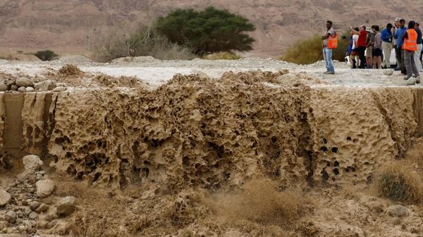 dead sea flood