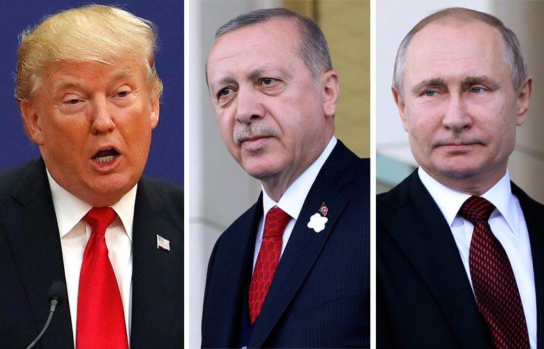 tramp putin erdogan