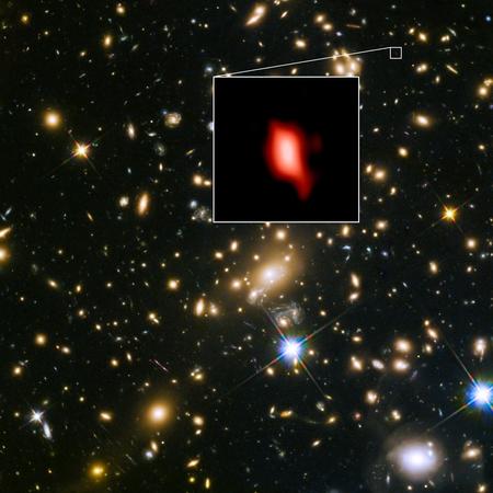 ΓαλαξίαςMACS1149 JD1ΠηγήALMAESO NAOJ NRAO
