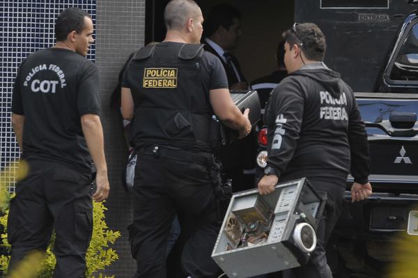 Federal Police courtesy of Agencia Brasil
