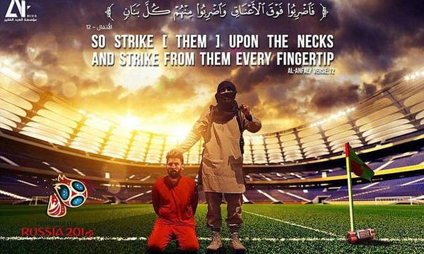 isis world cup russia