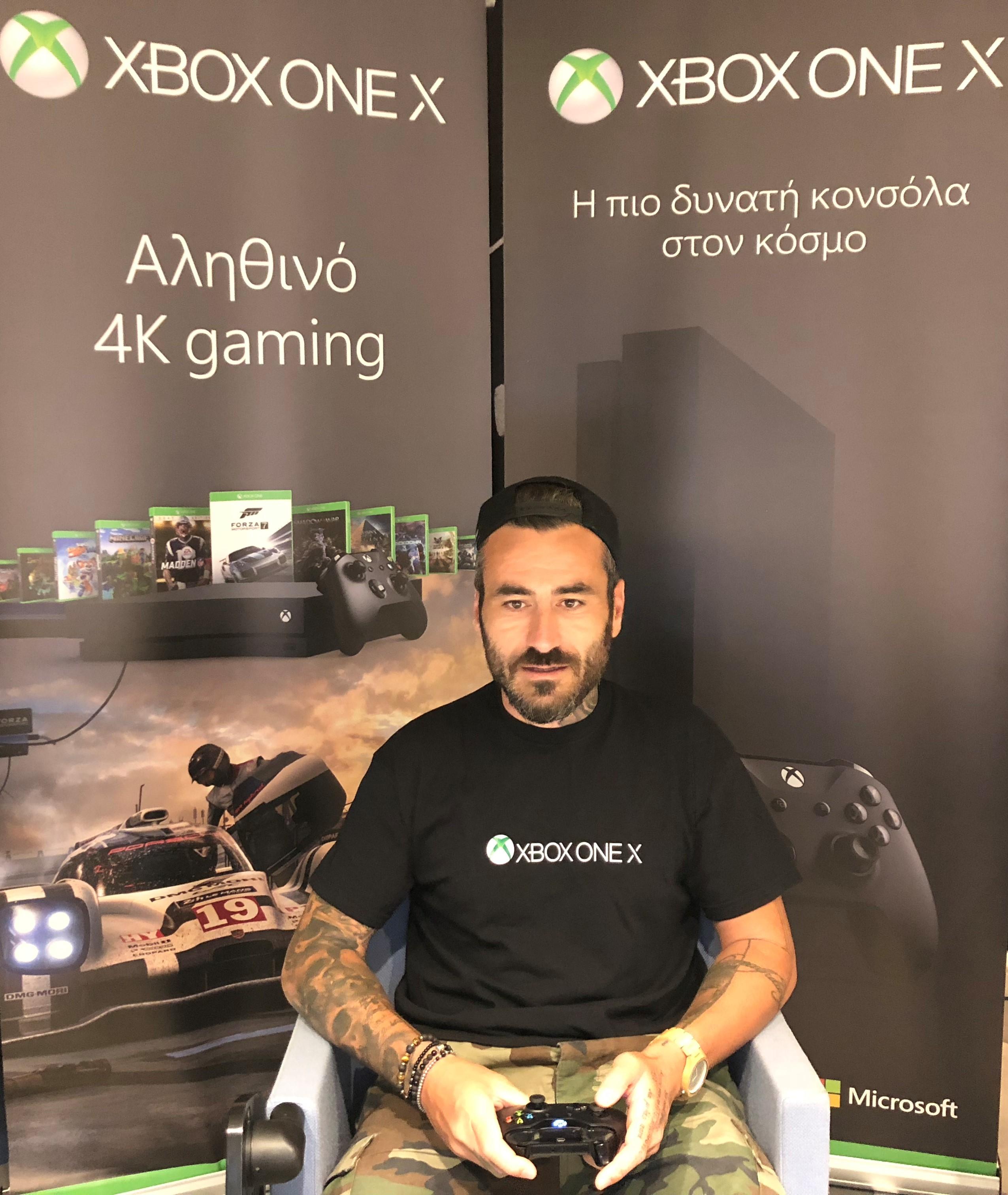 Γιώργος Μαυρίδης Xbox Arena Festival powered by Πλαίσιο