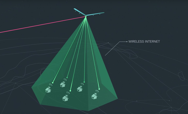 facebook has said internet speeds from its aquila drone will be similar to what youd find over fib