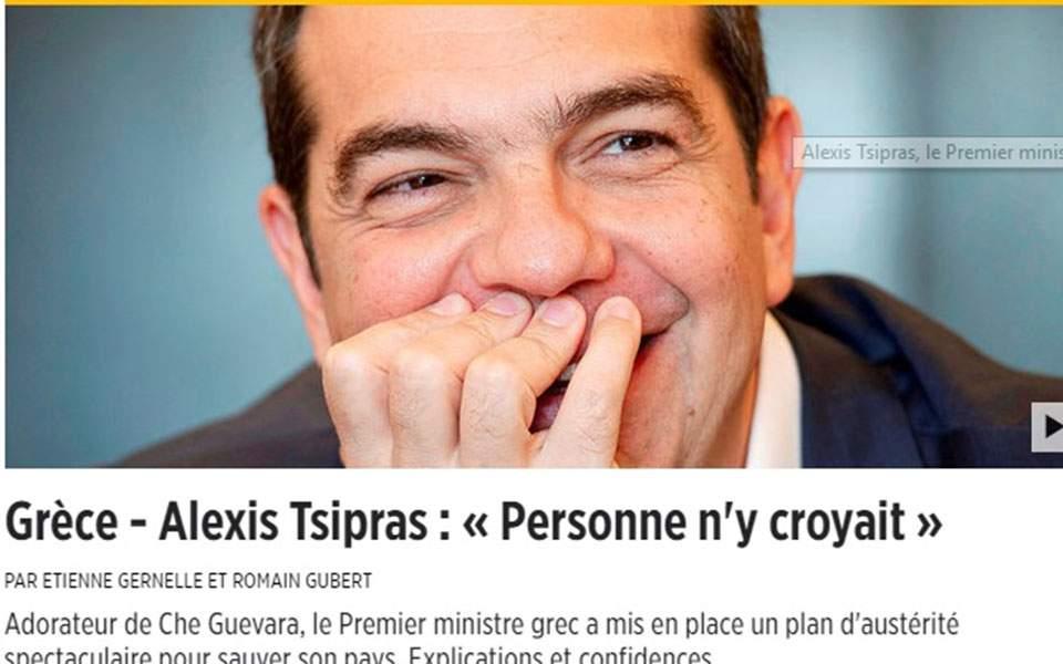 Tsipras le point