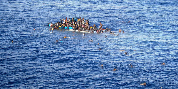 Refugee Crisis Boat sinks in Mediterranean Sea carrying 300 migrants Indialivetoday