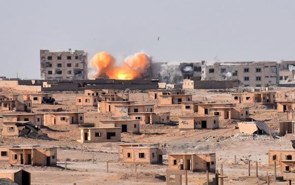 Deir Ezzor AFP