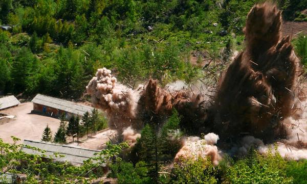 north korea destroys