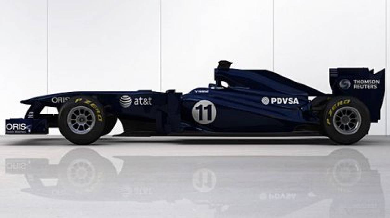 Η μπλε νέα FW33 της Williams