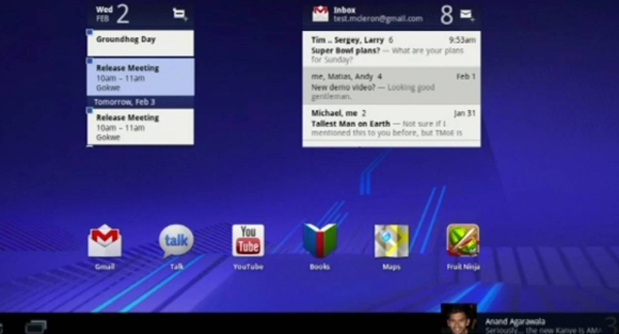 Android 3.0 Honeycomb: Επίσημη παρουσίαση