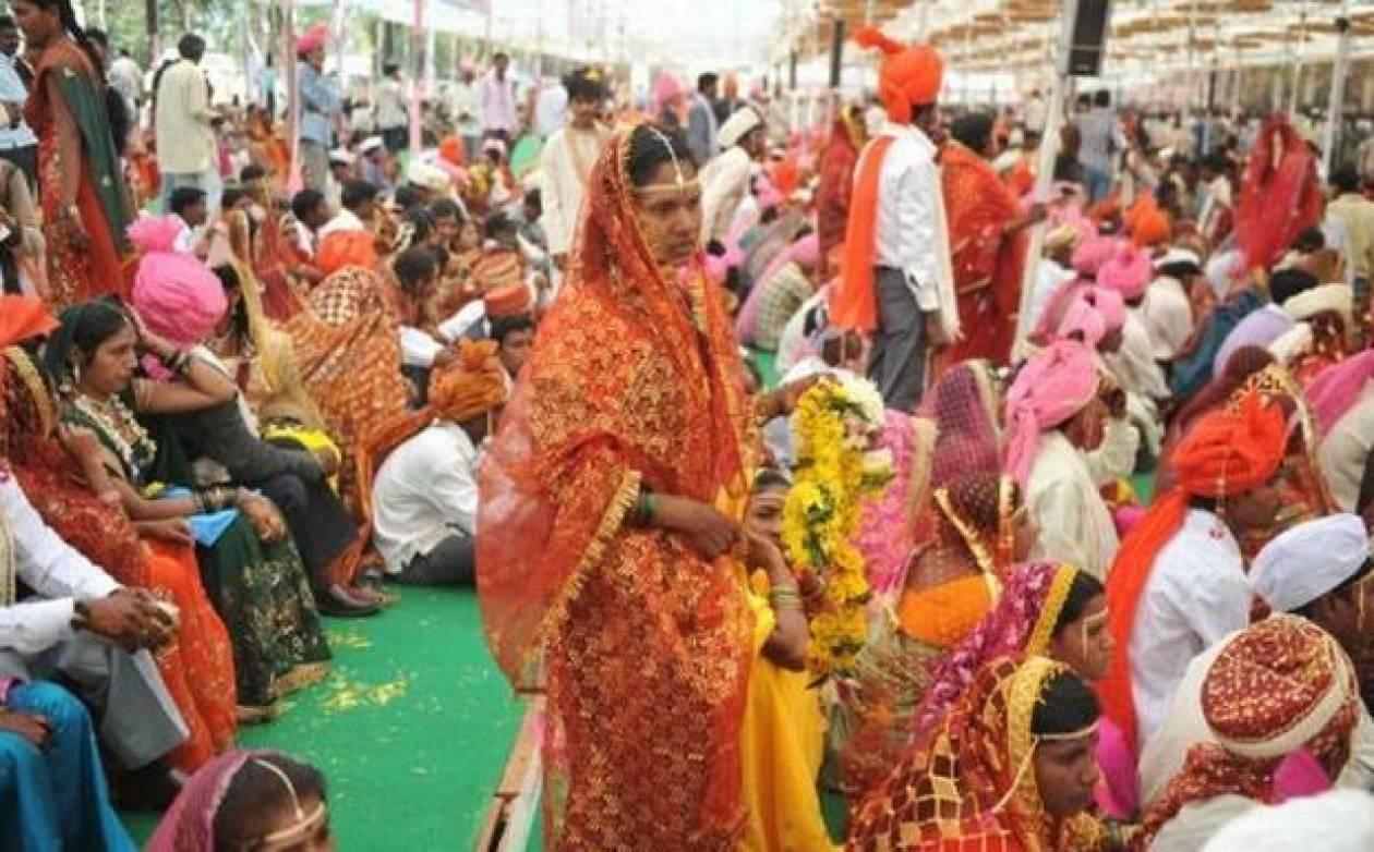 Παντρεύτηκαν ταυτόχρονα 3.600 ζευγάρια
