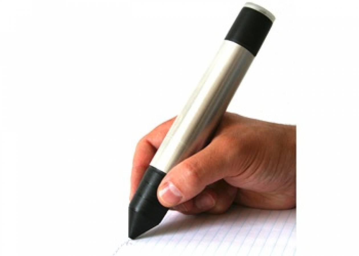 Ένα στυλό που καταπολεμά το άγχος