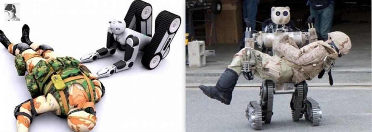 Ρομπότ-τραυματιοφορέας για κάθε...ανάγκη
