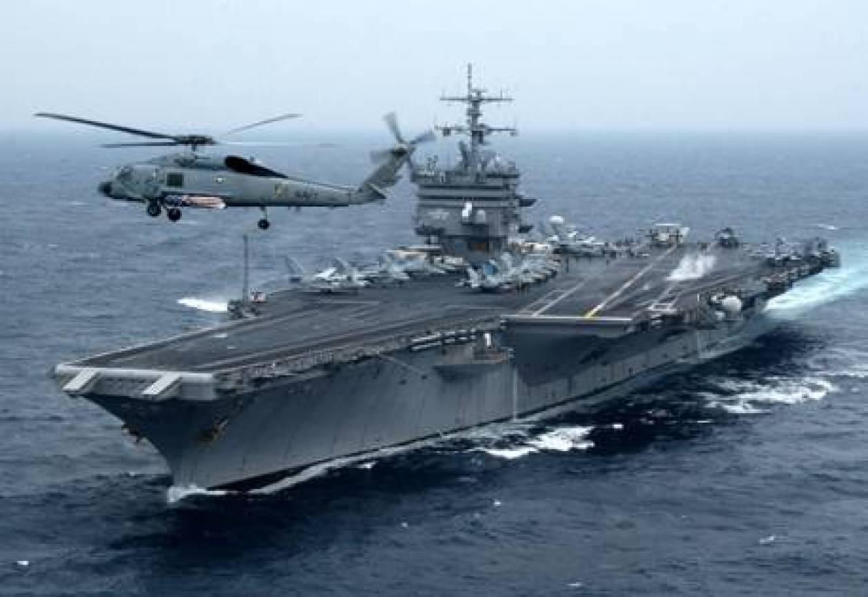 Αεροπλανοφόρο των ΗΠΑ «σκιά» στο Καστελόριζο!