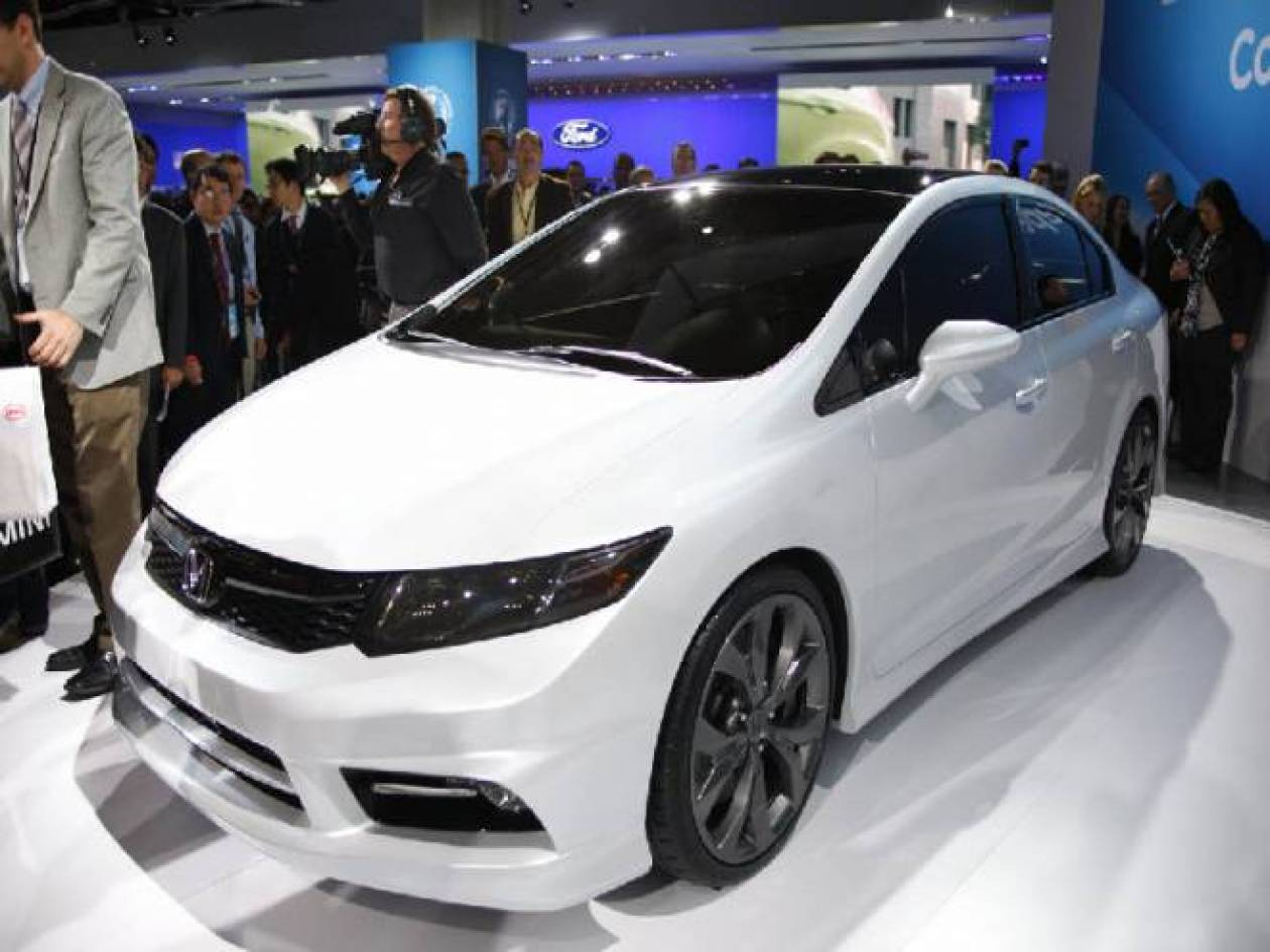 Νέο Honda Civic Concept
