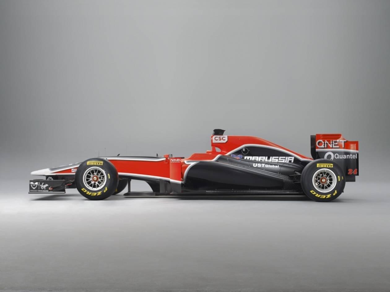 Η νέα Virgin Racing MVR-02