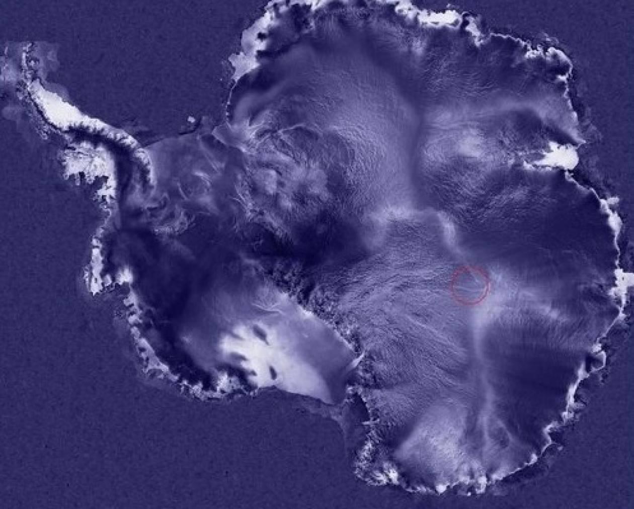 Η μυστηριώδης υπόγεια λίμνη στην Ανταρκτική
