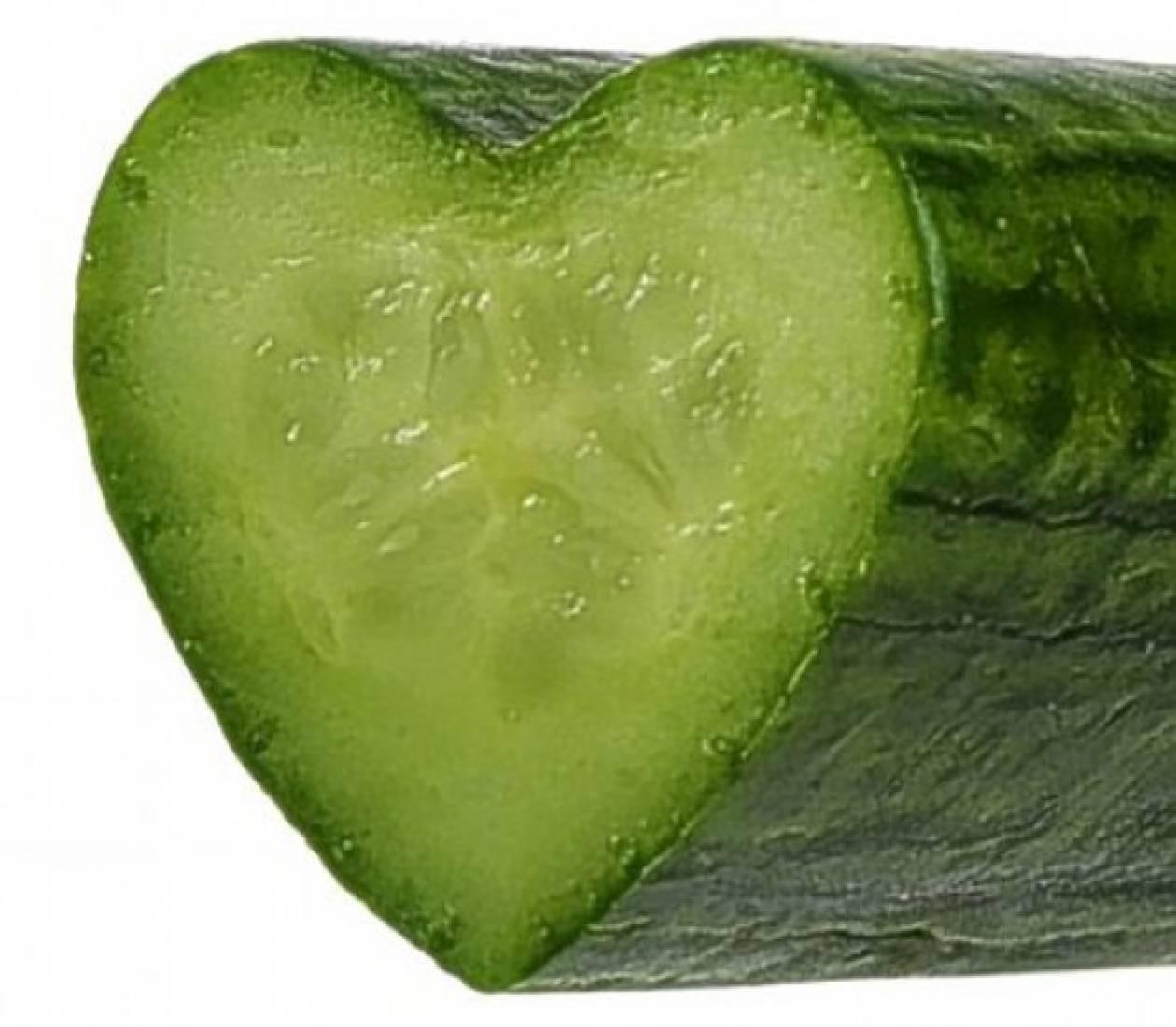 Ερωτευθείτε με την καρδιά ενός… αγγουριού